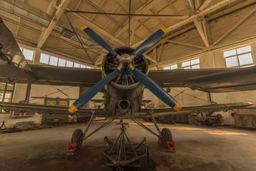 Piston engine aircraft