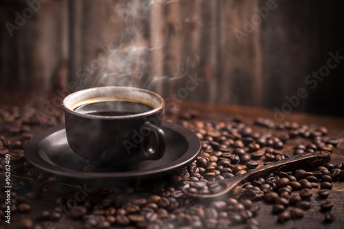Foto op Canvas Cafe Coffee cup