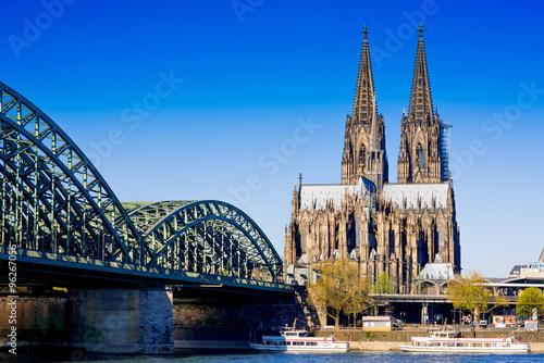 Foto op Plexiglas Historisch geb. Cologne Cathedral