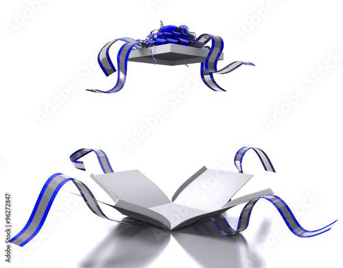 Fotografia, Obraz  Pacco aperto blu