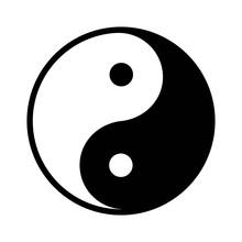 Ying Yang Balance Flat Icon Fo...