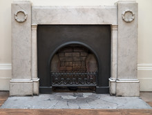 Neo Classical Fireplace