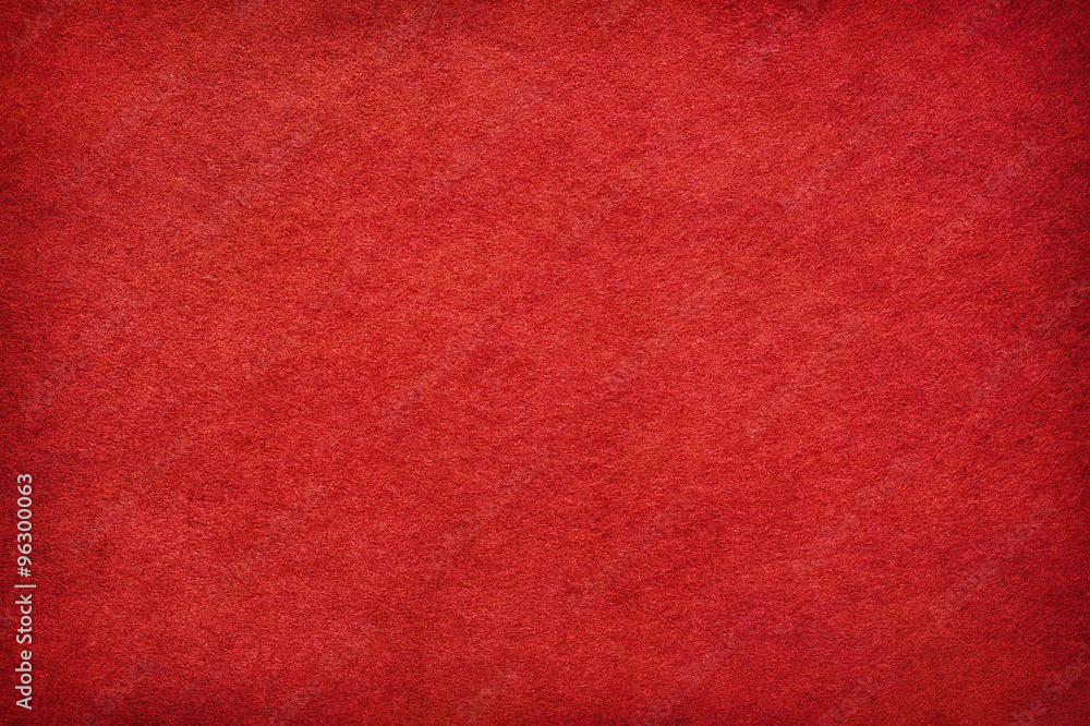 Fototapety, obrazy: Abstract red felt background