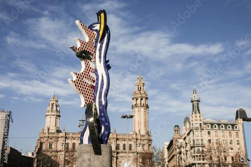 951ac985d21 El Cap de Barcelona of Roy Lichtenstein - Buy this stock photo and ...