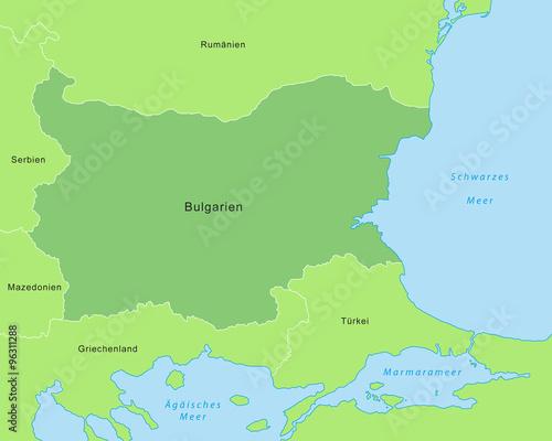 Karte Bulgarien.Bulgarien Karte Grun Buy This Stock Vector And Explore