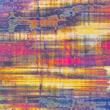 Colorful vintage texture. With different color patterns: yellow (beige); purple (violet); blue; pink