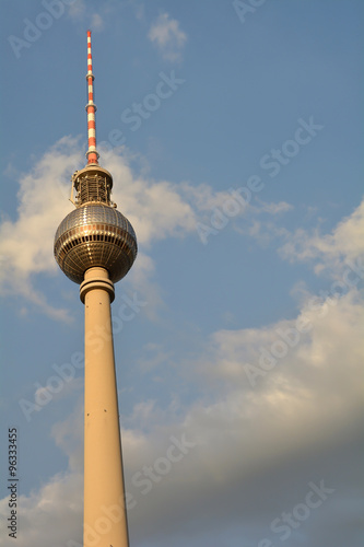 Photo  der Fernsehturm in Berlin