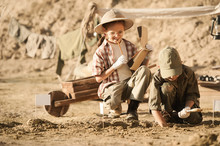 Children Conduct Archeological...