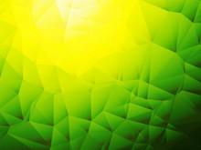 Yellow Green Background With Shadow