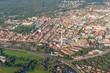 Erlangen Innenstadt Luftbild