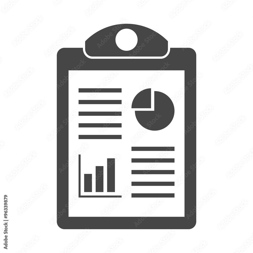 Fototapeta Business Report icon