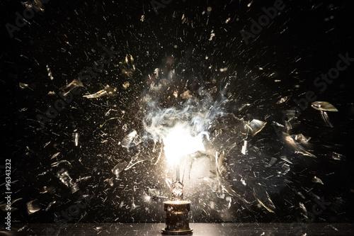 Photo  Exploded bulb