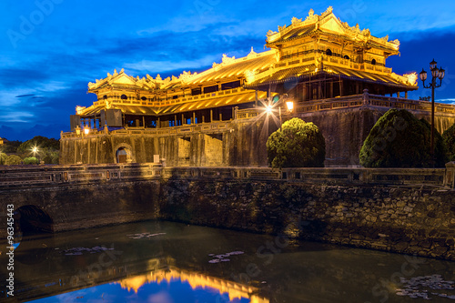 Photo  Imperial Royal Palace of Nguyen dynasty in Hue,  Vietnam