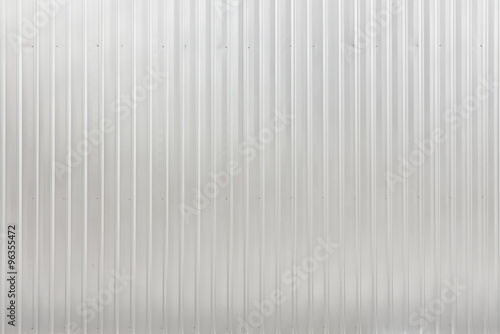 Foto  corrugated sheet metal