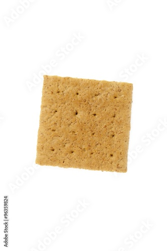 Fotografie, Obraz  graham cracker isolated on white background