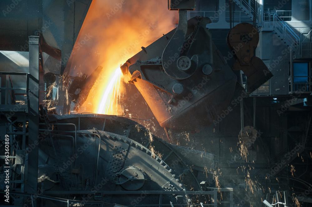 Fototapety, obrazy: metallurgical works