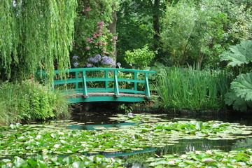 FototapetaGarten von Claude Monet in Giverny