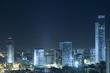 Ramat Gan Skyline at night