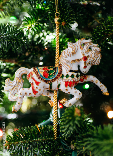 Carousel Horse Christmas Tree Decoration Buy This Stock
