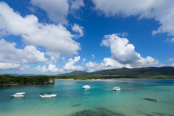 Kabira Bay in Ishigaki Island (石垣島 川平湾), Okinawa Japan