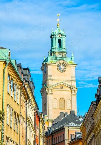 Photo  Storkyrkan, église Saint Nicolas à Stockholm, Suède