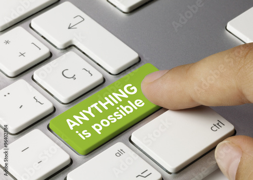 Anything is possible Canvas-taulu