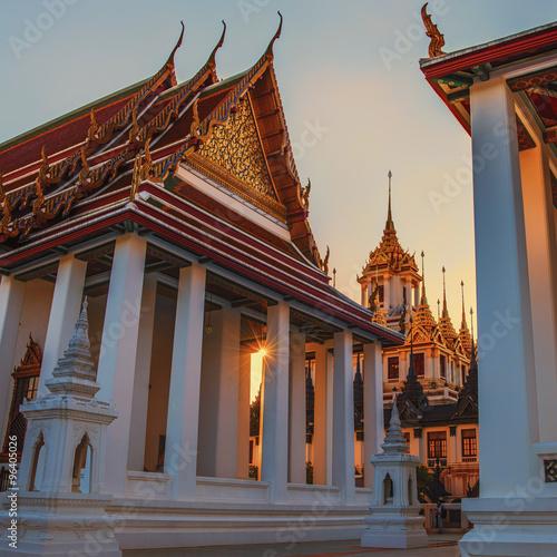 Photo Wat Ratchanatdaram temple in Bangkok