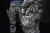 Armed policemen - 96411615