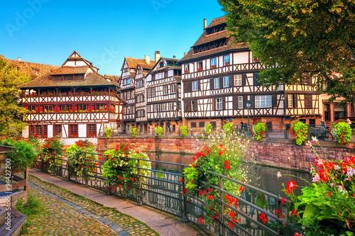 Fotobehang Nice Strasbourg, La Petite France district, France