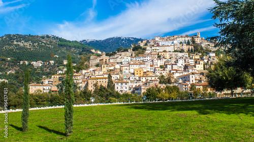 cori, a town near Latina, Italy Fotobehang