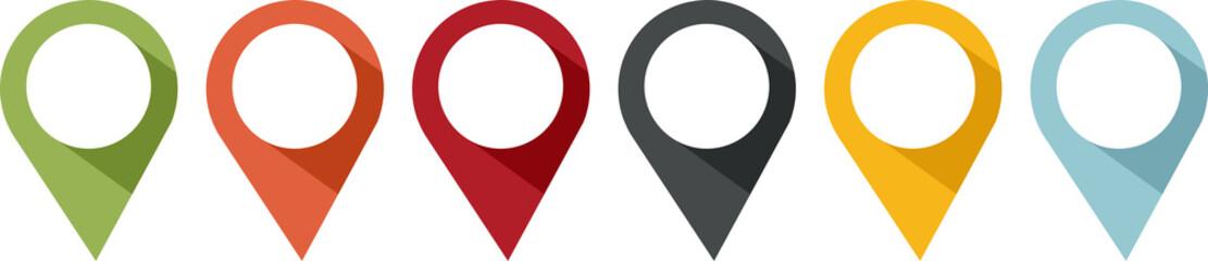 épingle ou balise pour indiquer un emplacement