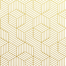 Vector Geometric Gold Pattern