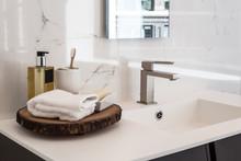 Clean Contemporary Bathroom Sink