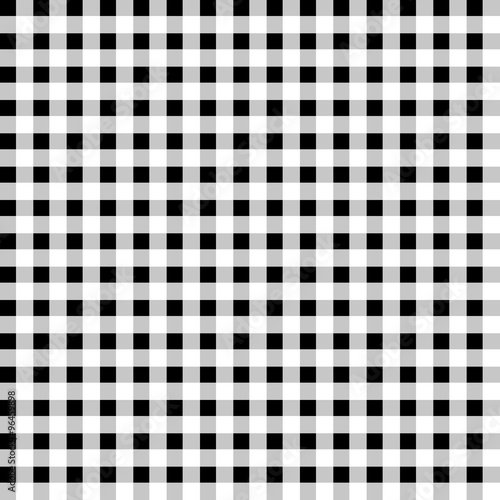 Zdjęcie XXL Contrasty pattern with squares. Seamlessly repeatable. Vector ar