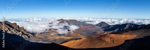 Fotografia Panoramic view of Haleakala crater, Maui Hawaii
