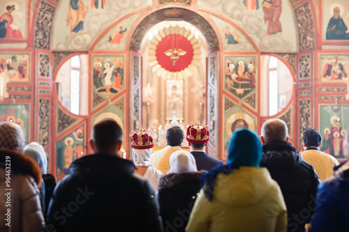 Fotomural Wedding in the Orthodox Church