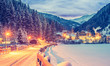 Winterspaziergang, Nationalpark Hohe Tauern