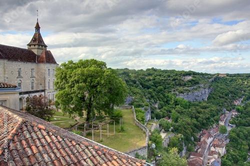 Spoed Foto op Canvas Zuid-Amerika land village pittoresque de Rocamadour dans le lot