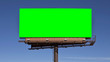 canvas print picture - Chroma Key Green Billboard