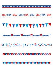 USA Patriotic Divider