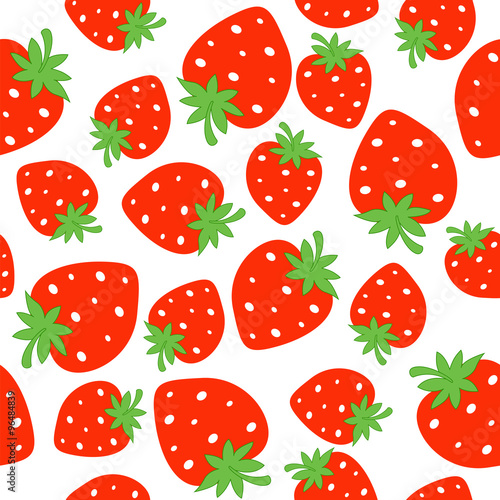 Strawberry Pattern Buy This Stock Vector And Explore Similar Mesmerizing Strawberry Pattern