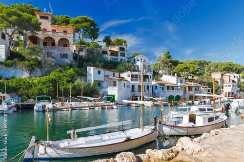 Fotografie, Obraz  XXX - Starý rybářský přístav Cala Figuera - 6701
