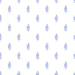 Fototapeta Foliage vector seamless pattern.