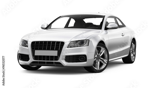 White spors car