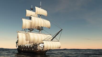 Panel Szklany Żagle 帆船