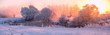 Leinwandbild Motiv Winter sunrise