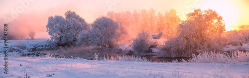 Fototapeta Winter sunrise obraz