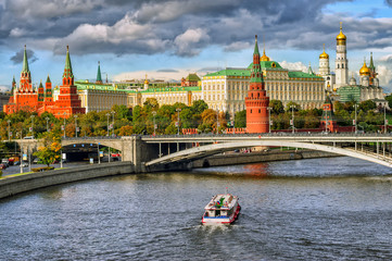 Panel Szklany Moscow Kremlin, Russian Federation