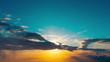 aerial mountain sunset horizon timelapse