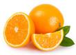 canvas print picture - Fresh orange
